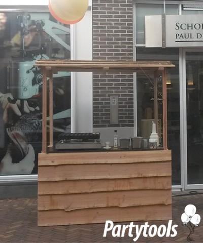 poffertjeskar huren in regio Breda