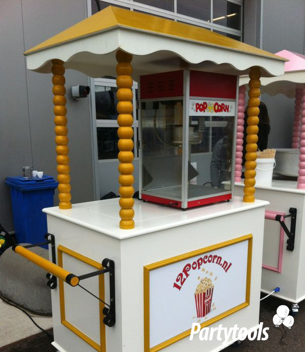 Popcornmachine huren in Breda